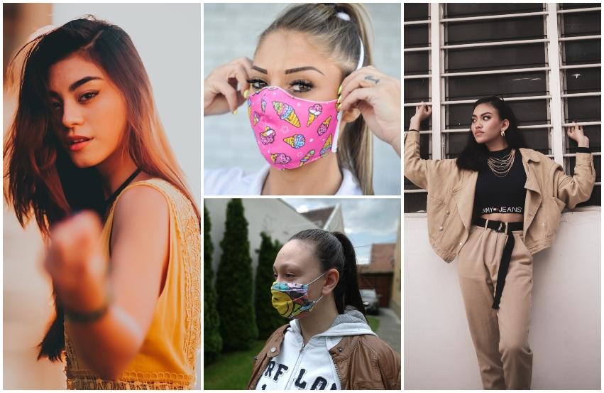 Devojke sa maskama na licu